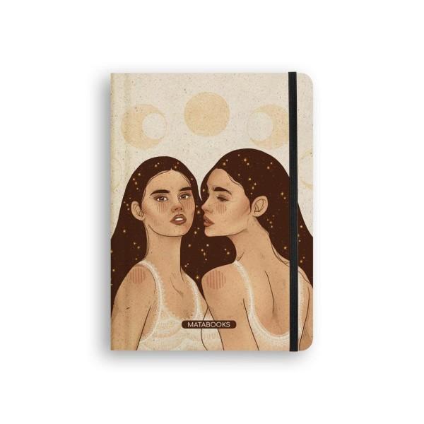 DVV Lokal - Matabooks - Notizbuch Universe Sisters