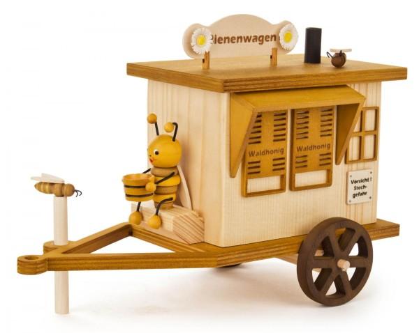 Bienenwagen mit Räucherfunktion