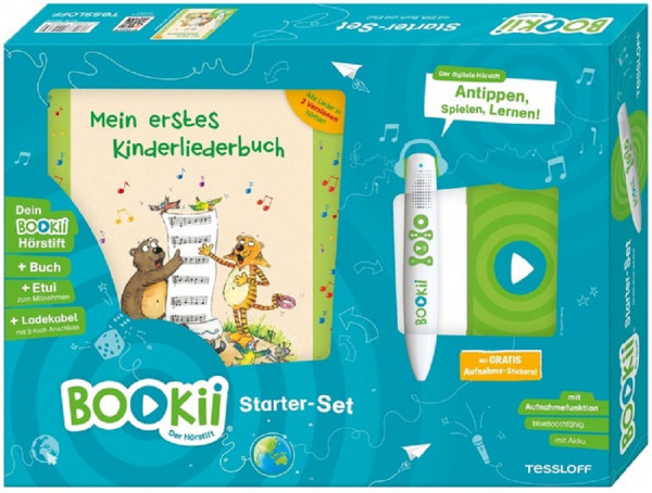 BOOKii® Starter-Set Mein erstes Kinderliederbuch