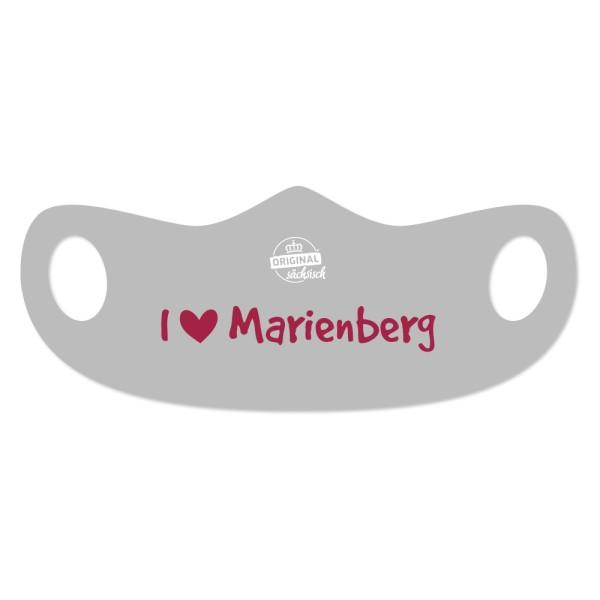 Mund- u. Nasenmaske I love Marienberg