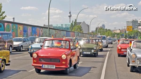Trabi Safari – Rundfahrt durch Berlin