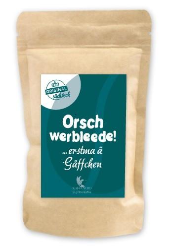Kaffeepäckchen Orschwerbleede