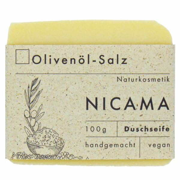 NICAMA Seife Olivenöl-Salz