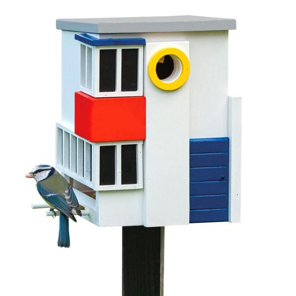 Vogelhaus Futterspender De Stijl