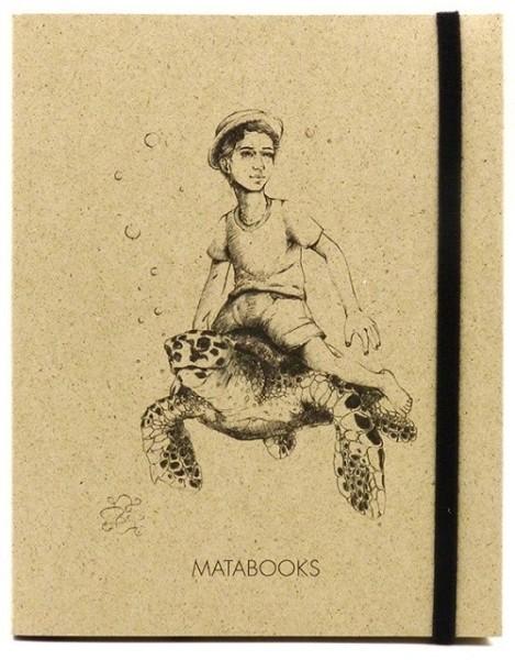 Notizbuch aus Graspapier Below Sealevel