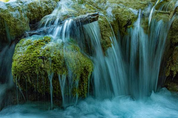 Wandbild Wasserstimmung Plitwitzer Seen in Kroatien (Motiv JR07)