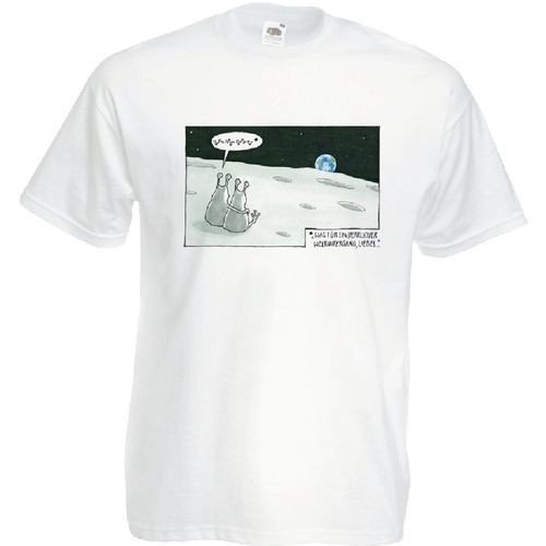 Herren-Shirt Weltuntergang