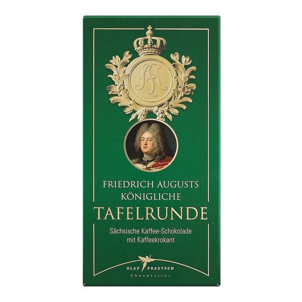 Kaffee-Schokolade Friedrich Augusts königliche Tafelrunde