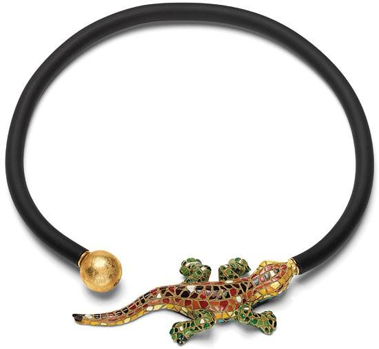 Anna Mütz: Collier Salamander
