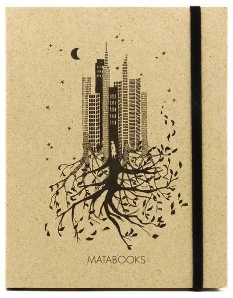 Notizbuch aus Graspapier Luna