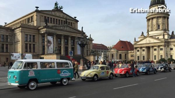 Stadtrundfahrt im VW T2 durch Berlin