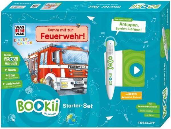 BOOKii® Starter-Set WAS IST WAS Kindergarten. Komm mit zur Feuerwehr!