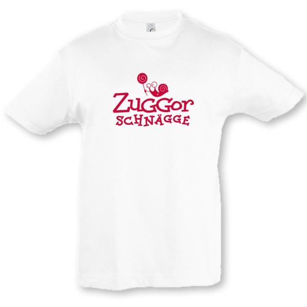 Kinder-T-Shirt Zuggorschnägge