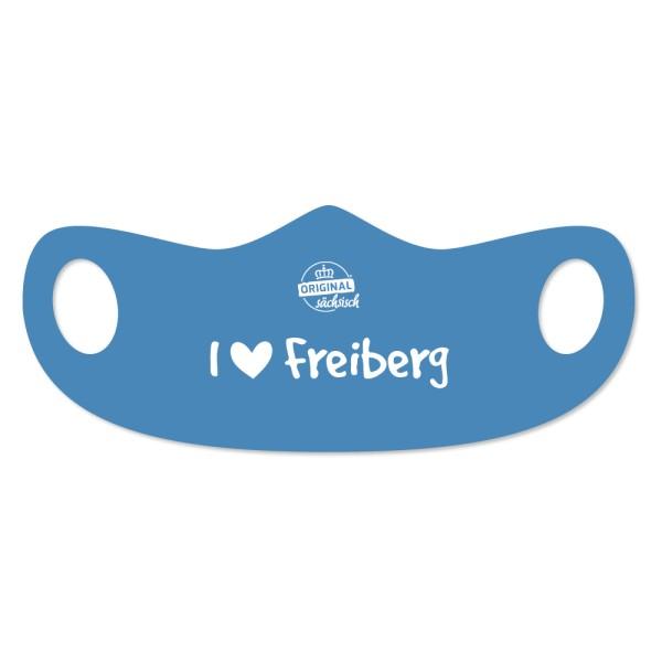DDV Lokal - Original Sächsisch - Mund- und Nasenmaske -  I love Freiberg