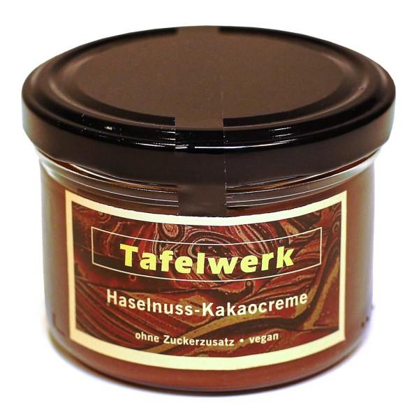 Haselnuss-Kakaocreme