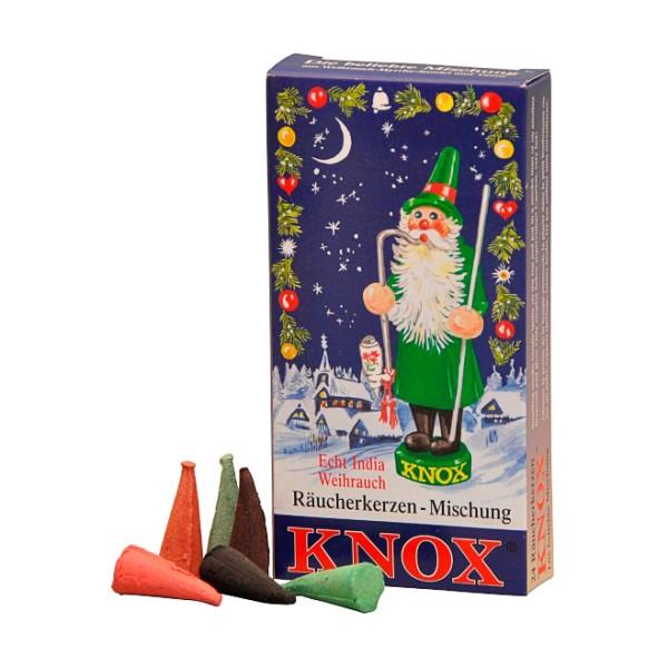 KNOX Räucherkerzen - Weihnachtsmischung
