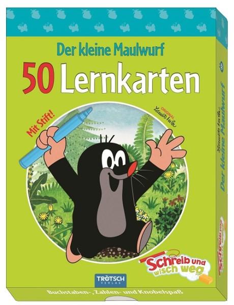 Der kleine Maulwurf - 50 Lernkarten Schreib und wisch weg